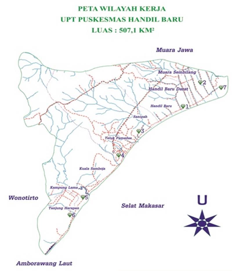 foto peta wilayah