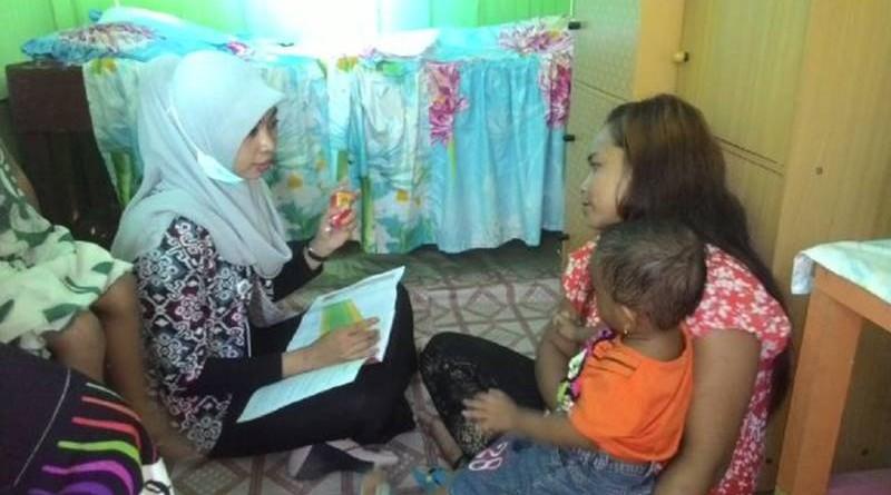 Kunjungan Ke Rumah Keluarga Dengan Balita BGM