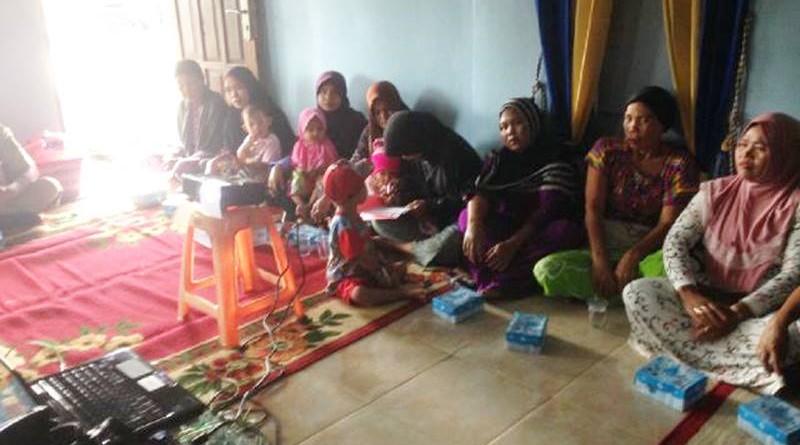 Kegiatan Penyuluhan DBD di Kampung Lama